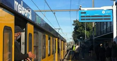 MABOPANE STATION TRAIN RESUMED.